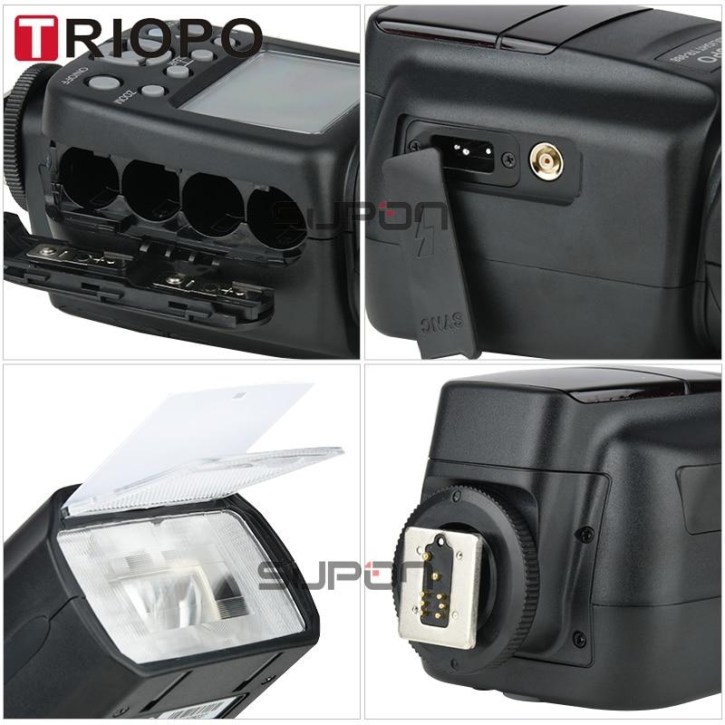 TRIOPO TR-988 Professional Speedlite TTL Kamera Flash med * High - Kamera og foto - Foto 5
