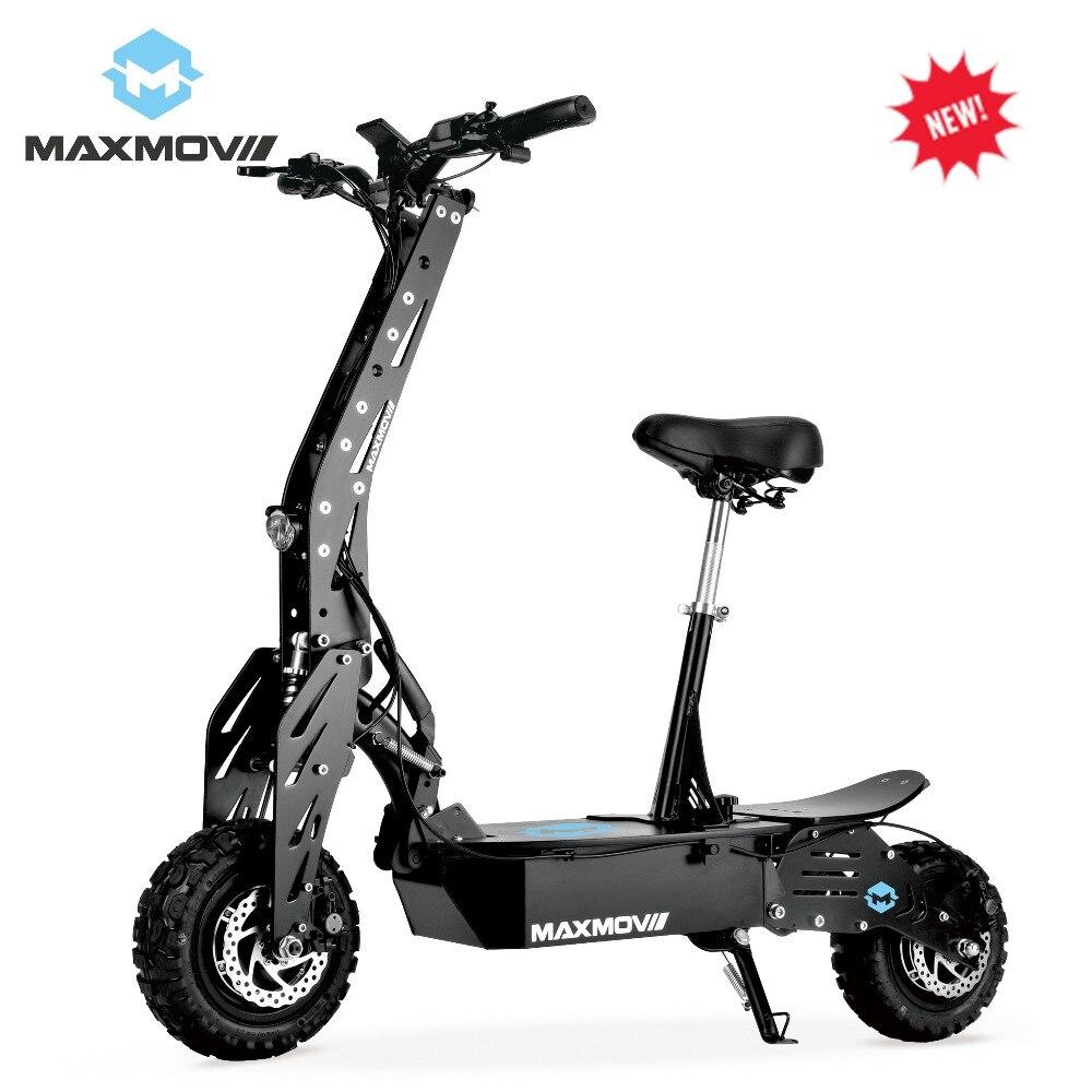 2019 Nova Vindo 2000 W Dual-Roda Motor Do Cubo de Alta Velocidade E Scooter para Adultos com Bateria Recarregável
