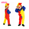 OHCOS Best Selling Joker Halloween Carnival Party Cosplay Kids Clothing Decorations Supplies Instock