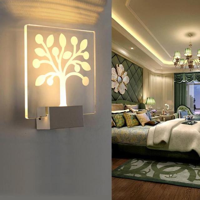 Luminarias De Interior Wall Lamp Bathroom Mirror Light Led Lamp Lighting  Stairs Loft Style Led Wall
