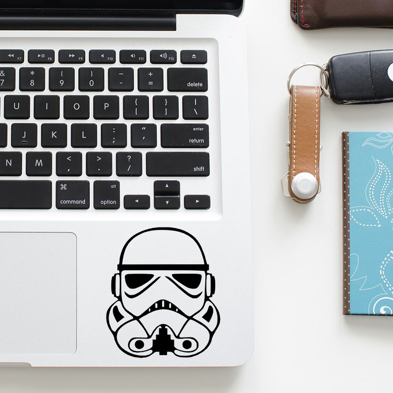 Storm Trooper Comic Trackpad Decal Laptop Sticker for Macbook Pro Air Retina 11 12 13 15 inch Vinyl Mac Notebook Touchpad Skin