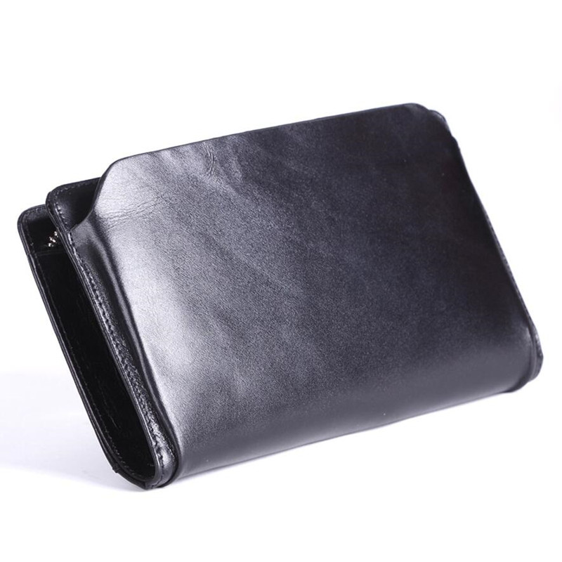 New Genuine Leather Wallet Business Men High Quality Fashion Clutch Bag Men Casual Purse Leather Cell Phone Wallet For Men 2016 new design fashion genuine leather clutch bag casual long purse high quality black business women wallet portefeuille femme