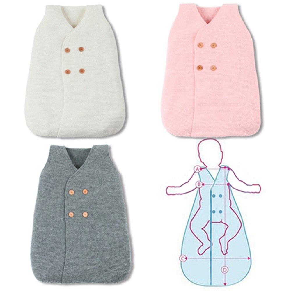 Baby Sleeping Bag Cute Blanket Swaddle Kids Toddler Warm Winter Sleep Sack  Stroller Wrap Baby Sleeping 1aa3c239c8a9