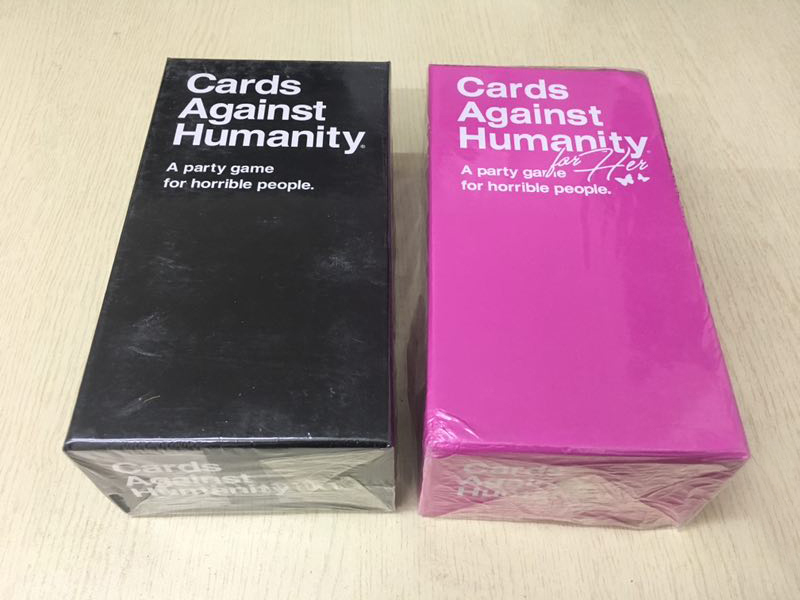 Free DHL 10pcs Cards Against the Humanity A Party Game for For Humanity Party Game for Horrible Playing cards