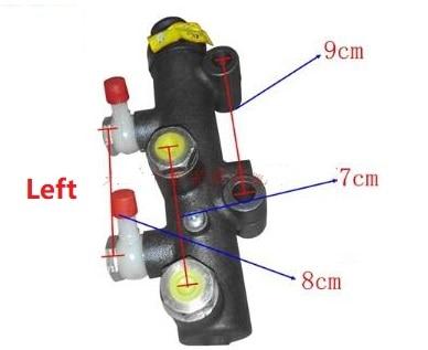 Fast Shipping Left Brake master cylinder brake master cylinder brake master cylinder brake pump truck pump