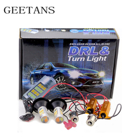 GEETANS 2pcs Lot T20 1156 42 Led Light High Power Daytime Running Light Turn Signal Dual