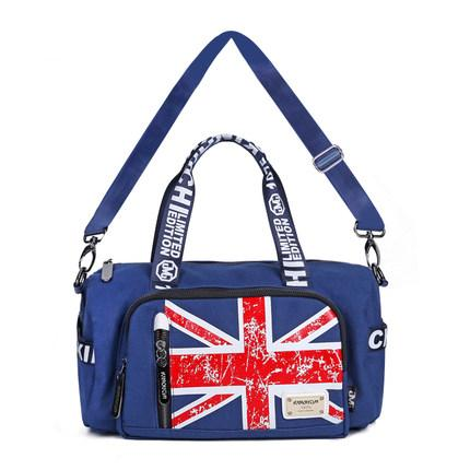 new canvas handbag Shoulder Bag Satchel Tote Bag British flag style leisure bag 2016 hot style horizontal women leisure canvas stripe handbag mix single shoulder bag handbag chain wave packet