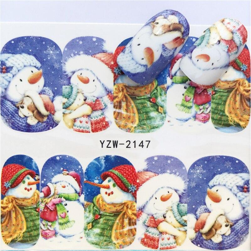 Aliexpress.com : Buy LCJ 1Sheet Santa Claus Christmas Nail