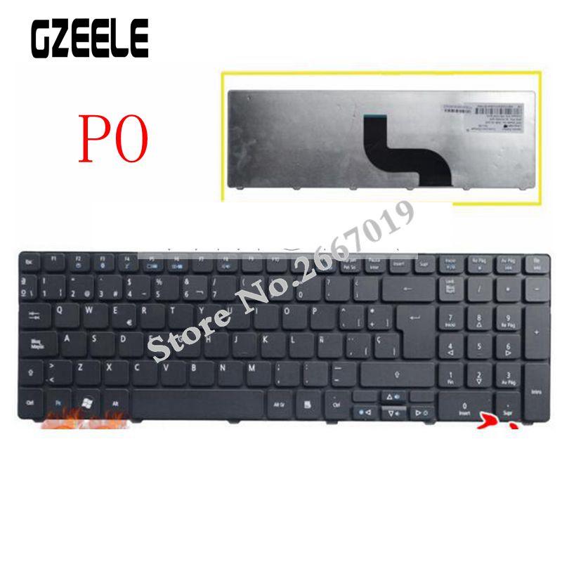Norwegian Nordic Keyboard for Acer Aspire 7741 7750 7750G 7750Z 7741G 5742 5742G