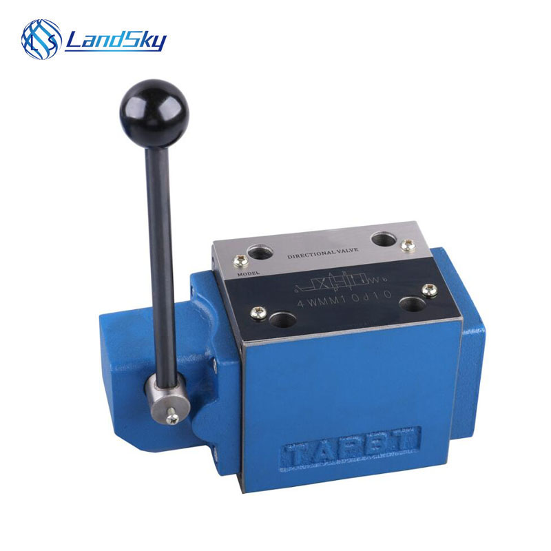 manual operation hydraulic directional control valve pressure flow 4WMM10E10