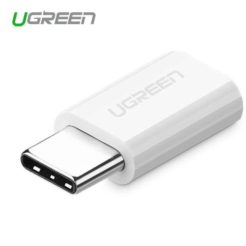 Ugreen USB محول Type C إلى المصغّر USB محول OTG Type-C محول ل Macbook One Plus 6 USB Type-C محول ل LG G5 شاومي