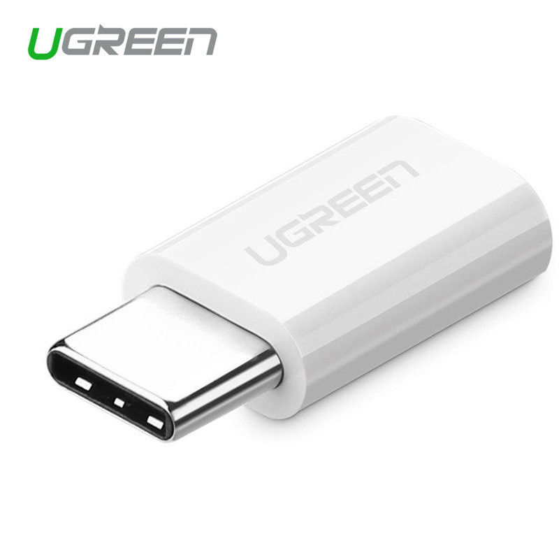 UUgreen USB Adapter Type C to Micro USB Adapter OTG Type-C Converter for Macbook One Plus 6 USB Type-C Adapter for LG G5 Xiaomi mini otg cable usb otg adapter micro usb to usb converter for tablet pc android samsung xiaomi htc sony lg