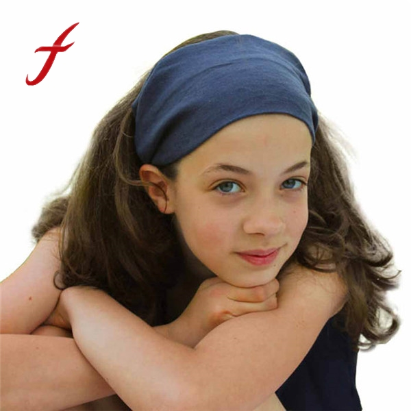 Fashion Woman Hair Accessories Elasticity Elastic Wide Ribbon Headband Hair Band Bandanas Hair Accessories For Women 16 Colors shanfu women zebra stripe sinamay fascinator feather headband fashion lady hair accessories blue sfc12441