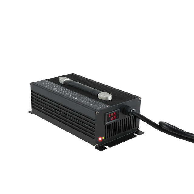 li ion 13s charger 48v 25a 20a electric tricycle battery chargerli ion 13s charger 48v 25a 20a electric tricycle battery charger 54 6v 25amp aluminum alloy with fan