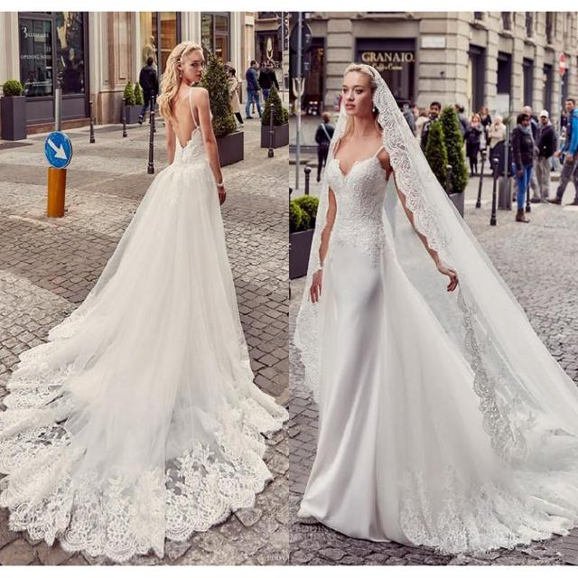 Aliexpress.com : Buy Backless Mermaid Wedding Dresses 2017