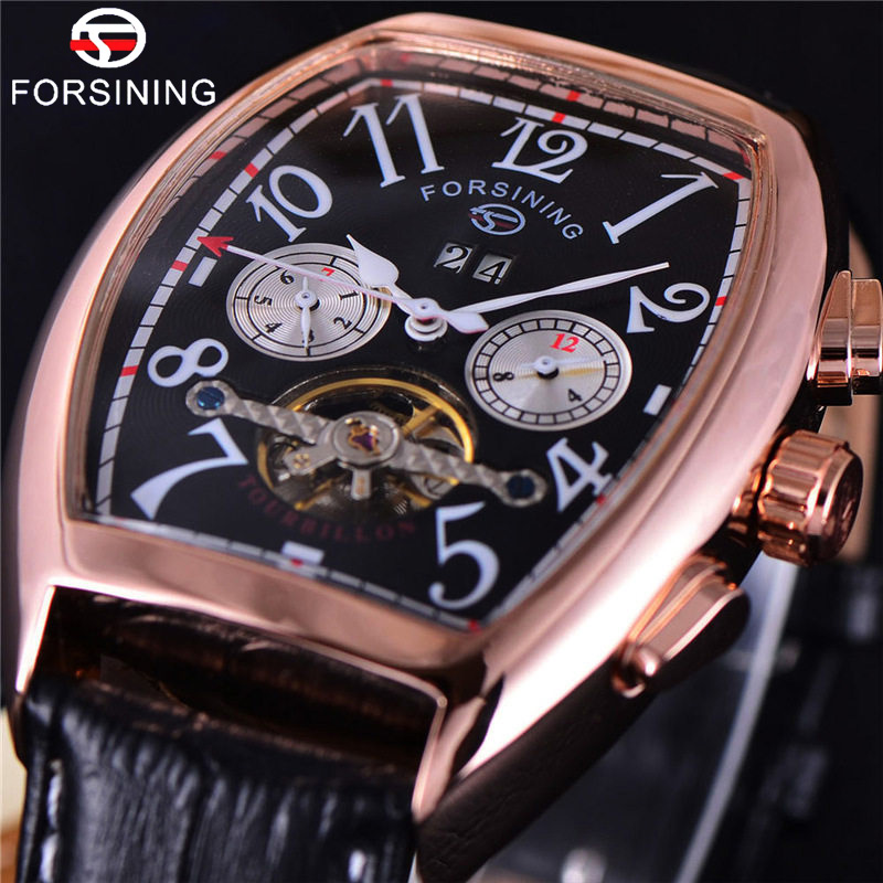 Mens Wrist Military Sport Clock Male Skeleton Automatic Mechanical Watches Hot