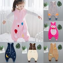 Детская одежда для сна; сезон весна-осень; спальный мешок для малышей; детские пижамы; Детский комбинезон; одежда для сна для малышей; для От 0 до 6 лет