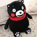 Японский Симпатичные 35 см или 45 см Kumamon Медведь Плюшевые Игрушки Детские дети Подарок На День Рождения Мягкие Гигантского Медведя Кумамото Талисман Медведь Куклы Дети подарок