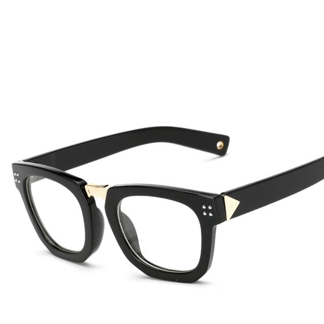 LONSY Glasses Frames Women Eyeglasses Frame 2017 vintage Brand Design Optical Frames Clear lens Pink  Spectacles CJ7006