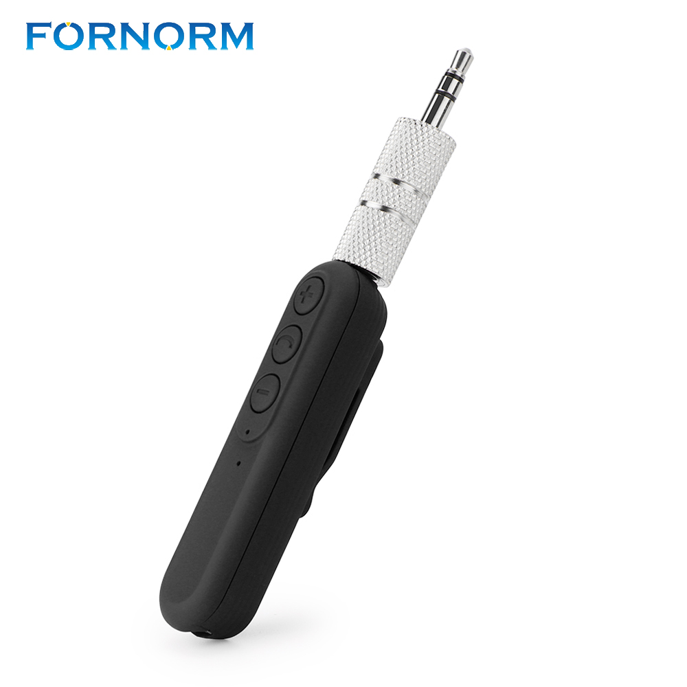 Universal 3.5mm Car Bluetooth Receiver BT4.2 Wireless Audio Adapter Auto AUX Streaming Music