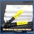 Pelacables Para Pelar 125 Micras de Fibra Cable De Fibra Óptica Original, doble-alicates de punta, fórceps Miller, Herramientas FTTH FO103