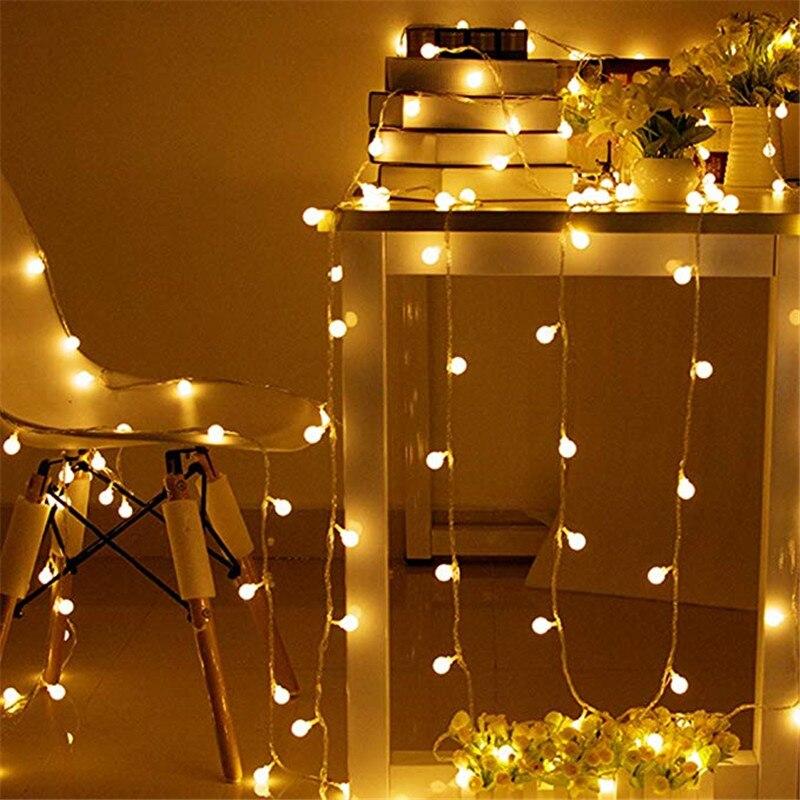10m 80 luzes de fadas led usb, exterior/interior, rua, guirlanda, natal/ano novo, luzes led de natal corda para decoração de casa