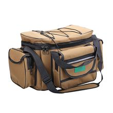 Multi-function Storage Bag Shoulder Messenger Large-capacity Fishing Ge