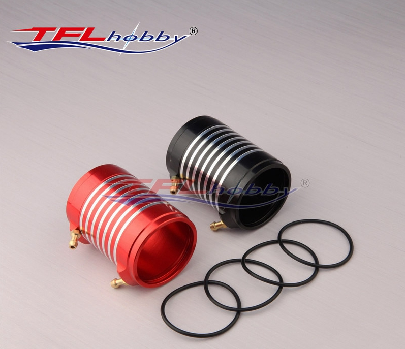 TFL Genuine Parts! Original SSS Aluminium Water Cooling Jackets for 4082 motor for RC Electric Boat