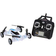 New Arrival X9 RC Quadcopter with Wheels 2.4Ghz Easy To Control Air-ground Amphibious RC Drone