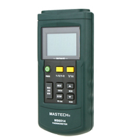 Hot MS6514 Dual Channel Digital Thermometer Temperature Logger Tester USB Interface 1000 Sets Data KJTERSN Thermocouple
