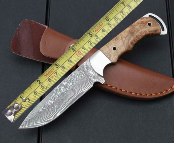 High quality Fixed Damascus Steel Blade Knife Wood Handle Camping Survival Hunting Tactical Knives Outdoor Tools k149
