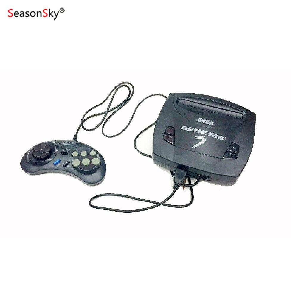 US $48 99 |US/AU 16 Bit Sega Retro Game Console TV Video Game Console 232  games Consola De Videojuegos sega game cartridges-in Video Game Consoles