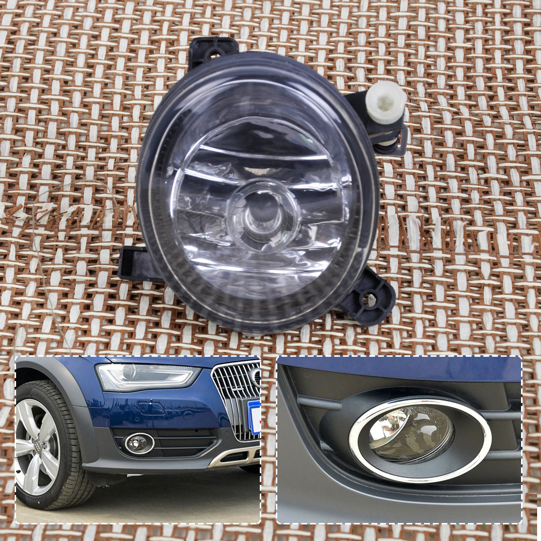beler 1Pc New Black 12V 8T0941700B 8T0941700B Front Right Fog Light Lamp for Audi A4 B8 Allroad A6 C6 S6 Q5 A5 S5 доска для объявлений dz 1 2 j8b [6 ] jndx 8 s b