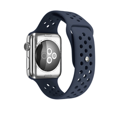 Breathable Sport Silicone Band for apple watch Series 3 / 2 Replaceable Bracelet Strap Watchband Watchstrap for iWatch 38/42/40/