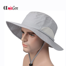 Широкая шляпа для рыбалки для мужчин и женщин, рыбацкая шляпа, хлопковая уличная летняя Защита от солнца УФ-Кепка, противомоскитная шляпа, маска для лица, AC