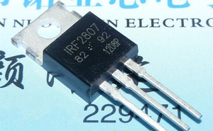 10 sztuk/partia IRF2807 IRF2807PBF MOSFET MOSFET N 75V 82A TO-220 nowa oryginalna natychmiastowa dostawa w magazynie
