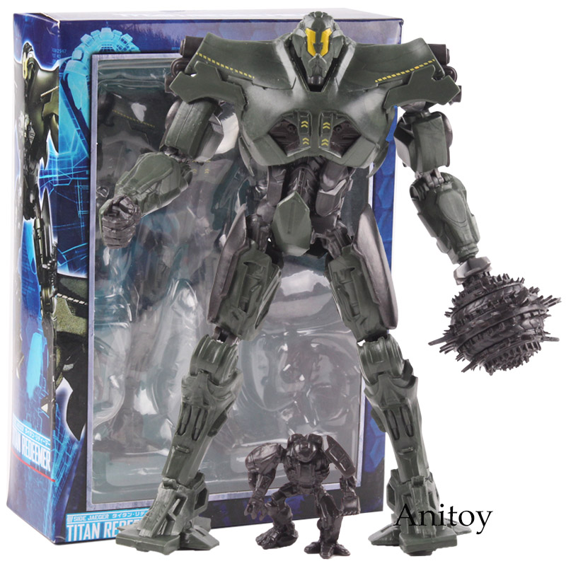 Pacific Rim Uprising Jaegers Gipsy Avenger Bracer Phoenix Titan Redeemer PVC Side Jaeger Action Figure Collectible Model Toy
