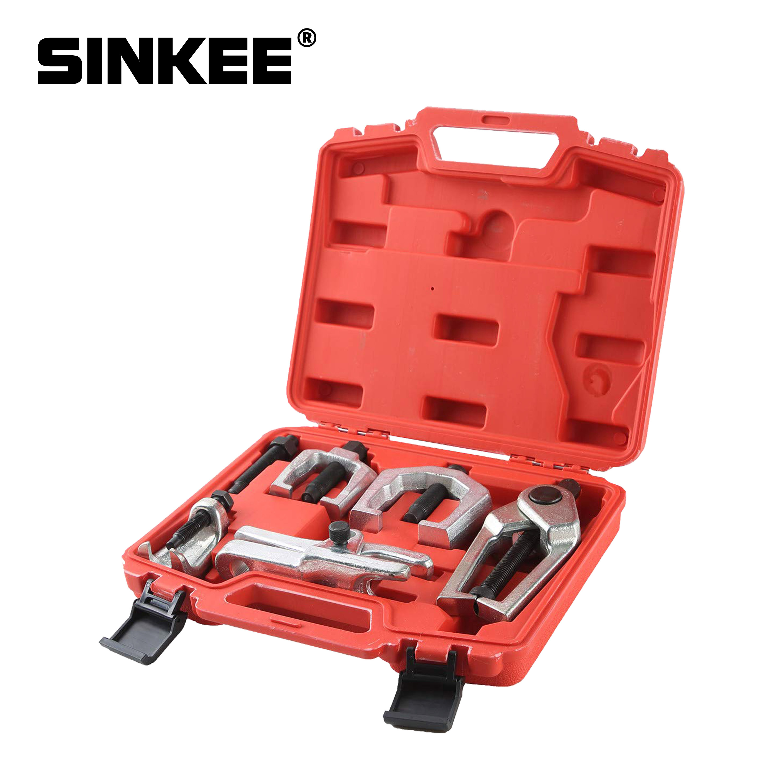 5pcs Front End Suspencion Service Ball Joint Separator Tie Rod End Kit Pitman Arm Puller Auto Tool Set Remover SK1540