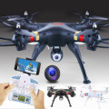 6-Axis 4 CH 2.4 GHz 2.0MP Wifi FPV Transmissão Em Tempo Real câmera LEVOU Luz RC Quadcopter Drone Giroscópio para Android iOS telefones celulares