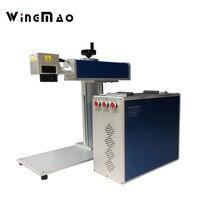 Mini Metal Laser Engraver Portable Optical 20w 30w 50w Fiber Laser Marking Machine