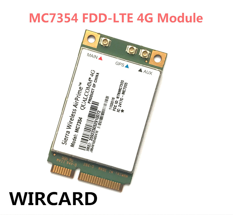 Sierra Wireless MC7354 Mini PCIE LTE 4G FDD-LTE 4G Module