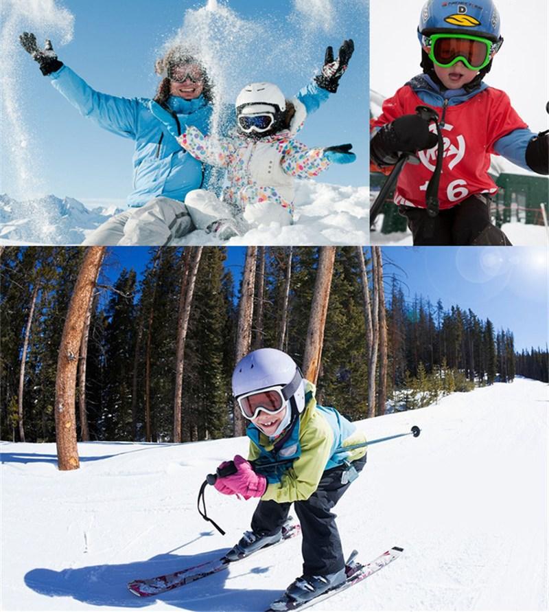 03bd509ae38d Saenshing Frameless Ski Goggles Men Women Breathable Unti Fog Snowboard  Glasses Single Layer Lens Mountain Climbing Eyewear