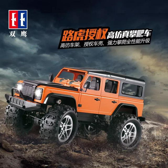 Remote Control All Terrain Barrier Free Electric Crawl Off Road Truck High Sd Racing Climbing 4wd Car Double E Drop Shipping