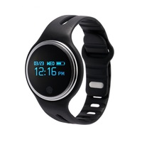 Bluetooth 4.0 Sports Smart Bracelet E07 Pedometer Fitness Tracker Smartband Call Reminder for Android iOS Phones