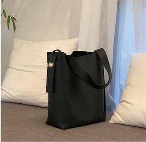 Image 4 - Moda all partita borsa secchiello semplice stile di cuoio dellunità di elaborazione di un sacchetto di spalla delle donne della borsa femminile casuale nero/marrone xuew98
