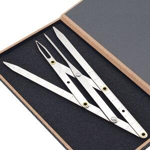 2019 بيع Microblading الوشم الحاجب حاكم الفولاذ المقاوم للصدأ الذهبي نسبة تجميل دائم متناظرة أداة مقسم الإكسسوارات