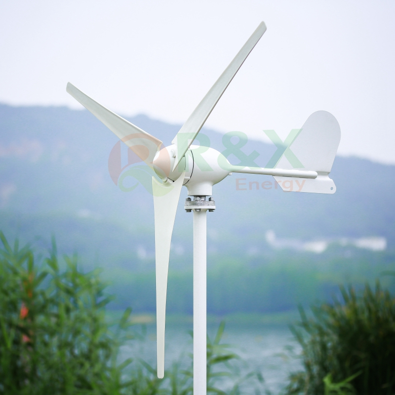 Générateur de Turbine éolienne CE 500W 12 v/24 v 3 lames avec contrôleur de Charge gratuit