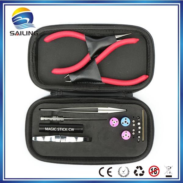 Athena vape mini ecig coil tool coil jig tweezer pliers Allen key DIY tool kit electronic