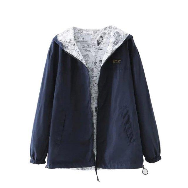 Мода Женщин Пиджаки Случайные Теплое С Капюшоном Длинные Ветровка Куртка Толстовки Пальто