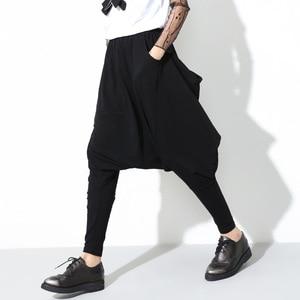 Image 3 - [[EAM]] 2020 Chất Lượng Cao Thời Trang Mùa Xuân Mới Rời Áo Kate Thun Cao Cấp Đen Hậu Cung Quần Nữ Quần tất Cả Các Trận Đấu YC79501